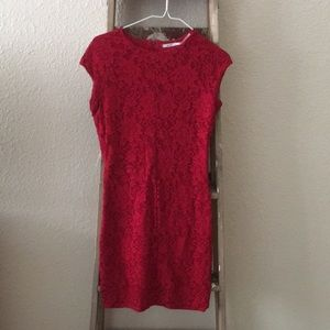 Seamed lace bodycon dress from Urban Outfitters